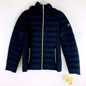 Michael Kors Packable Down Fill Hooded Puffer Jacket S  NEW WITH TAGS!